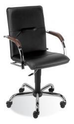 Купить продажа офисное кресло руководителя Самба Хром Киев Украина недорого стои