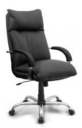 Купить продажа офисное кресло руководителя Надир хром Киев Украина недорого стои