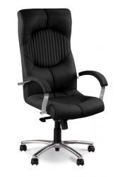 Купить продажа офисное кресло руководителя Гермес хром Киев Украина недорого сто