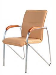 Купить продажа офисное кресло посетителя Самба Хром CF недорого стоимость цена о